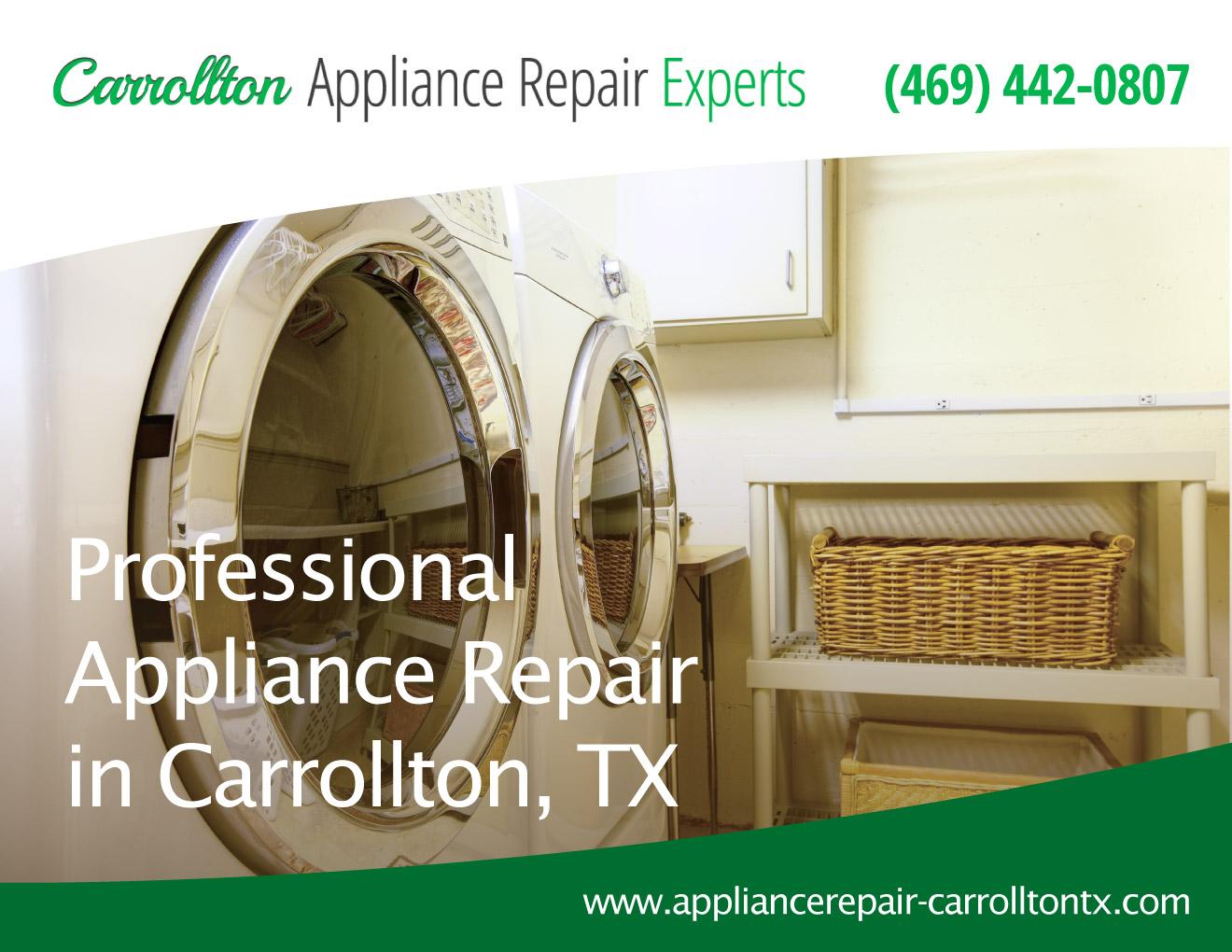 Carrollton Appliance Repair Experts   (469) 442 0807